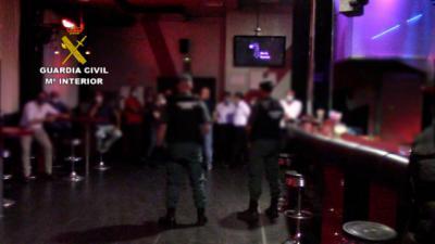 COVID-19 | Estaba abierto: operación policial en un prostíbulo de la provincia de Toledo
