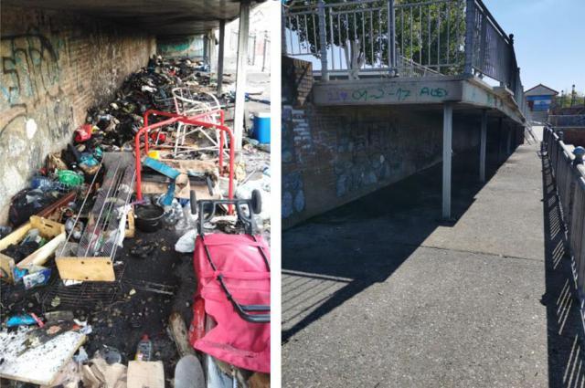 TALAVERA | Limpieza a fondo en la zona de las piraguas: 1,5 toneladas de basura (FOTOS)