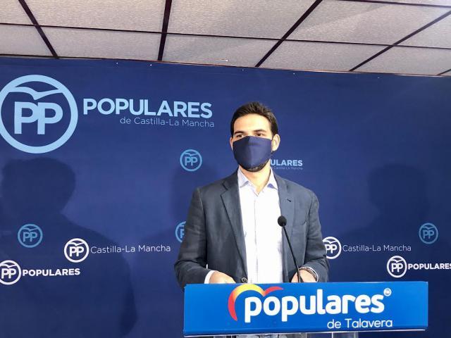 TALAVERA | Serrano carga contra la gestión sanitaria de Page: