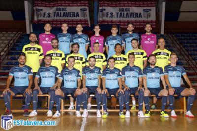 FÚTBOL SALA | El Soliss FS Talavera ya tiene su foto oficial de la temporada