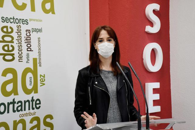Diana López, diputada regional de PSOE