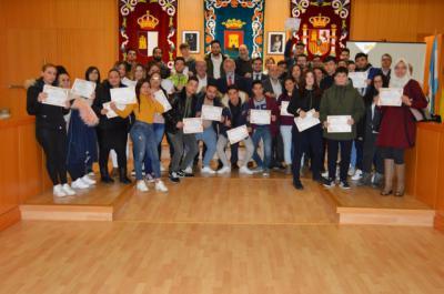 El proyecto TIC 'Manos a la tecla' culmina con la entrega de diplomas