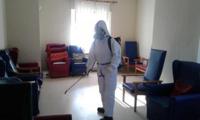 COVID | Plan Especial de Desinfección de centros sociosanitarios en la provincia de Toledo