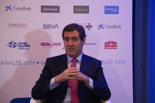 GALARDONES FEDETO | Garamendi dice que la economía está lista 'para actuar' en Navidad