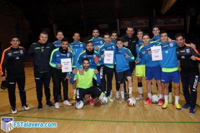 El Soliss FS Talavera colaborará con la iniciativa 'Tapones para Eva'