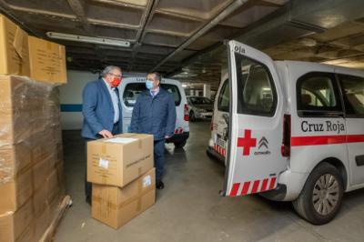 MASCARILLAS | Reparto de casi 150.000 unidades en la provincias de Toledo