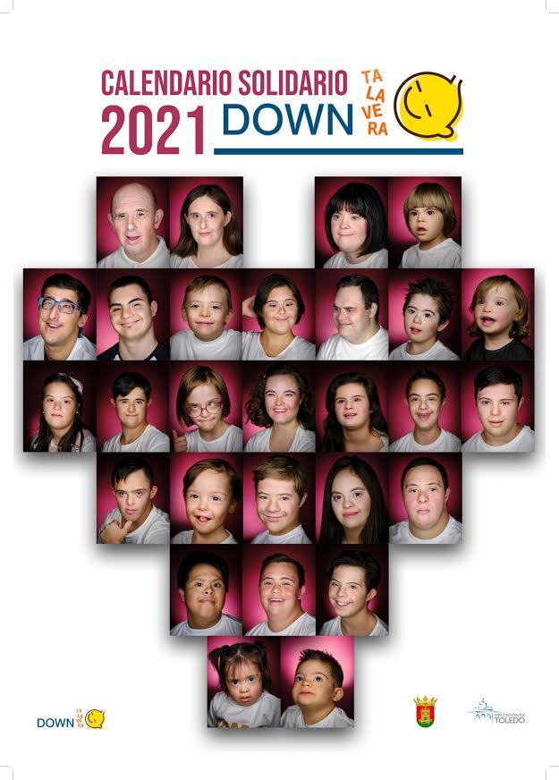 DOWN TALAVERA | Ya puedes adquirir su Calendario Solidario 2021
