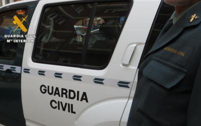 La Guardia Civil detiene a una persona por un delito de exhibicionismo