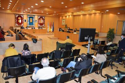 TALAVERA   Carrillo presenta el Plan de Accesibilidad ante el Consejo Local y los agentes colaboradores