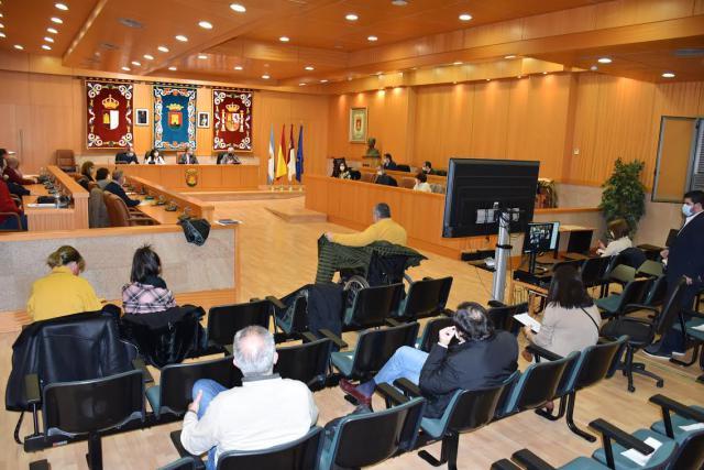 TALAVERA | Carrillo presenta el Plan de Accesibilidad ante el Consejo Local y los agentes colaboradores