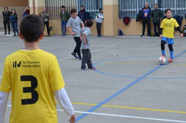 Pablo Iglesias, Fernando de Rojas y ATANDI asaltan el liderato en la Liga Escolar FS