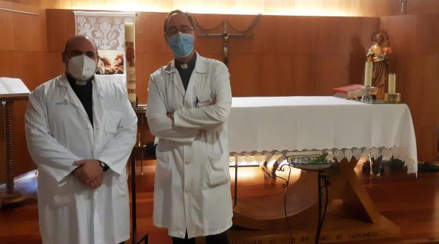 TALAVERA | Premio a los capellanes del Hospital por su labor durante la pandemia