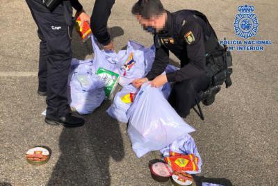 MÁS DE 1.000 EUROS     Cinco detenidas por robar productos en supermercados