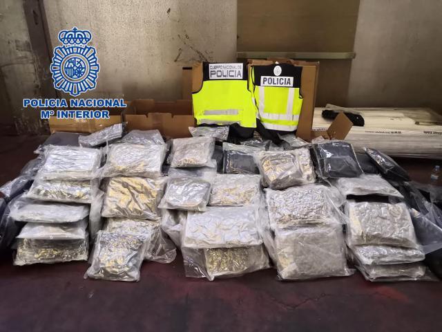 Intervienen 132 kilos de marihuana gracias a la colaboración ciudadana