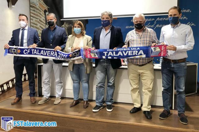 Día histórico para el Soliss FS Talavera y el CF Talavera