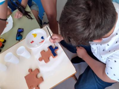 La cerámica como ocio inclusivo para personas con TEA de Talavera