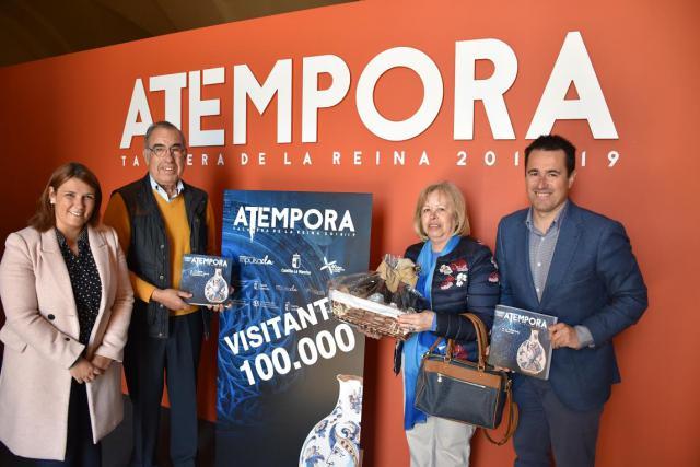 La exposición 'aTempora Talavera' recibe a su visitante número 100.000