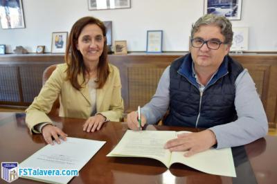 El Soliss FS Talavera firma con la Diputación un convenio de colaboración