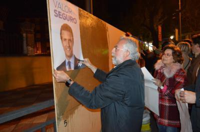 El PP de Talavera apuesta por Casado y su 'valor seguro'