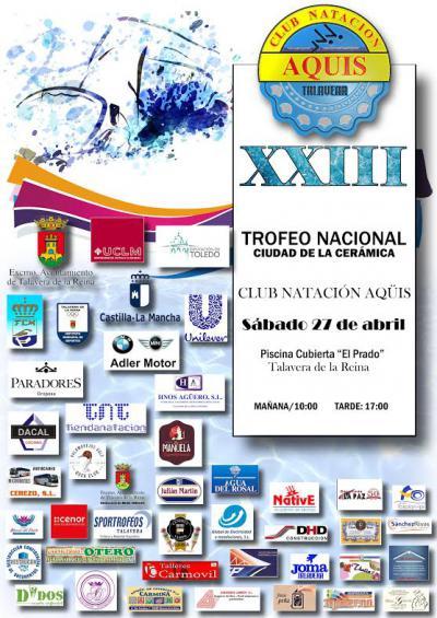 El Trofeo Nacional Ciudad de la Cerámica, del CN Aqüis, alcanza su XXIII edición
