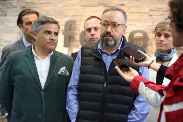 Girauta defiende la plataforma logística de Talavera y mejoras en el tren