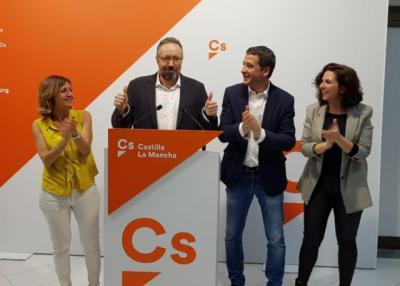 Cs CLM obtiene diputados en Toledo, Albacete, Guadalajara y Ciudad Real