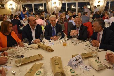 La cena de la hermandad de San Isidro reúne a más de 650 personas