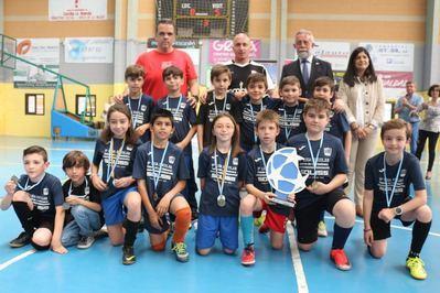 Broche de oro para la VI Liga Escolar Fútbol Sala 'Ciudad de la Cerámica'