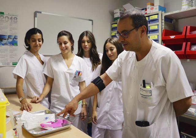 El Área Integrada de Talavera formará a más de 150 alumnos de Enfermería