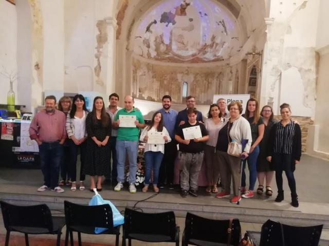 Un programa de prácticas en el Ayuntamiento de Talavera acerca al mundo laboral a jóvenes con discapacidad intelectual