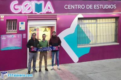 Goma Centro de Estudios, nuevo patrocinador del Soliss FS Talavera