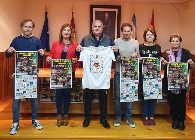 Carrera solidaria y Caminata 'Villa de Saucedo' contra la ELA en Talavera la Nueva