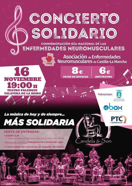 Concierto solidario en el Palenque para conmemorar el Día Nacional de las Enfermedades Musculares