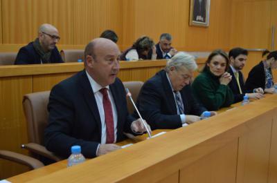 """Castillo: """"Presentamos unos presupuestos sociales e inversionistas"""