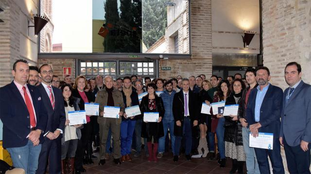 Reconocimiento a 105 empresas de Talavera de la Reina y su comarca