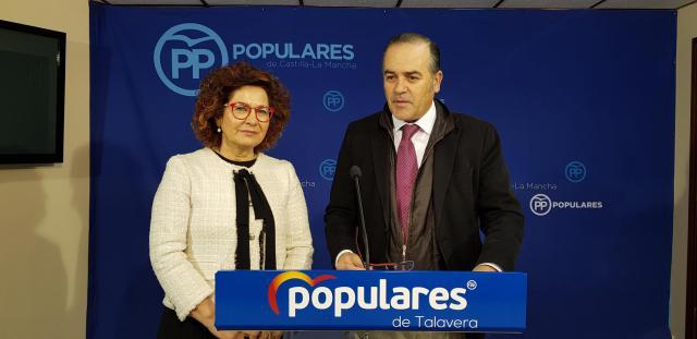 """Gregorio: """"Page y Agustina García son cómplices de las canalladas que el PSOE de Pedro Sánchez está haciendo a España"""""""