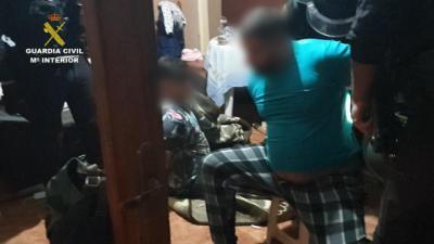 Desarticulado un grupo criminal dedicado a los robos con violencia en la provincia de Toledo