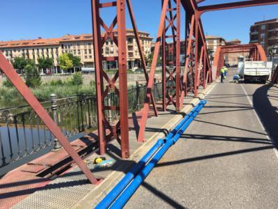 TALAVERA | Tuberías nuevas para mejorar abastecimiento en los barrios de Santa María, Puente Romano y El Paredón