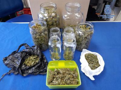 TALAVERA | Detenido por vender marihuana a jóvenes y menores de edad