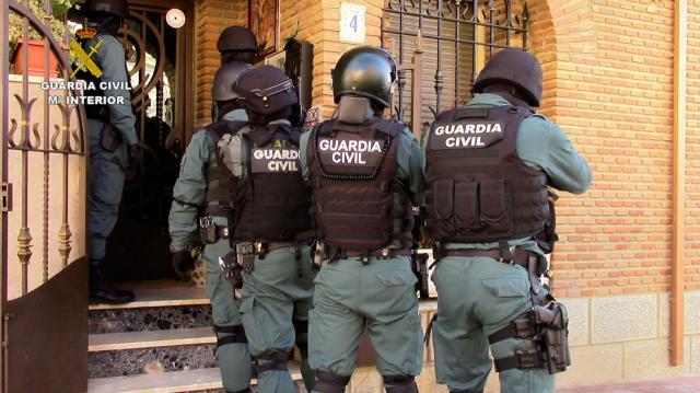 OPERACIÓN CRUCIX | Cinco personas detenidas por robar en cementerios en pueblos de Toledo