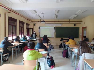 SALUD MENTAL | ATAFES Talavera retoma las charlas de sensibilización en los colegios