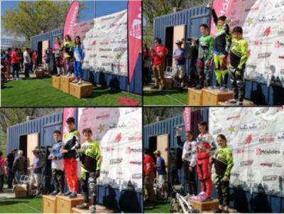 El Club BMX Los Pinos logra cuatro podios en la Copa de Madrid