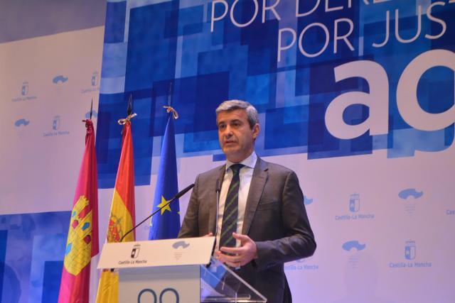 El presidente de la Diputación ofrece su apoyo para la recuperación del Tajo