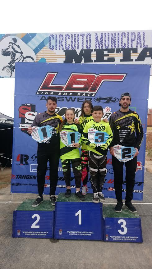 Magníficos resultados del Club BMX Los Pinos en Granada