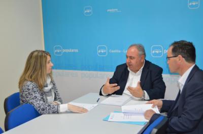 Tirado se compromete a luchar por los 95.000 diabéticos de la provincia de Toledo
