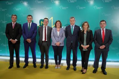 El Gobierno regional apoya la labor de EuroCaja Rural