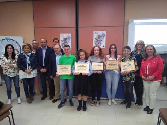 Entrega del 'XXII Premio de Poesía Escolar La Salle- Ciudad de Talavera