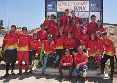 Tres oros, plata y dos bronces para el BMX Talavera en la Copa de España