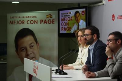 El programa electoral del PSOE CLM contará con más de mil medidas