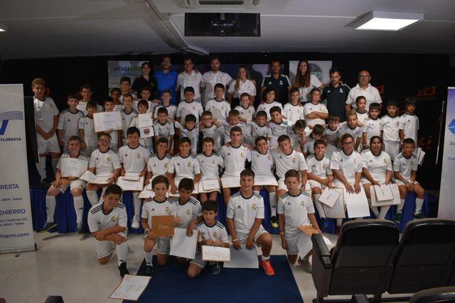 Emoción en la clausura del Campus Experience Fundación Real Madrid-Ébora Formación Cazalegas/Talavera